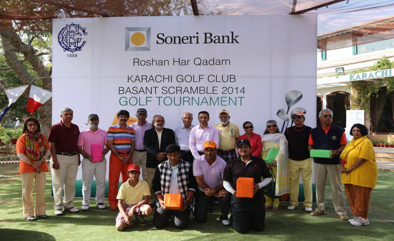 KGC Basant Scramble 2014 Golf Tournament