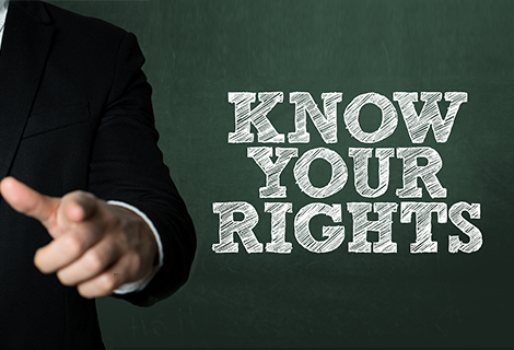 Know your Rights & Responsibilities English